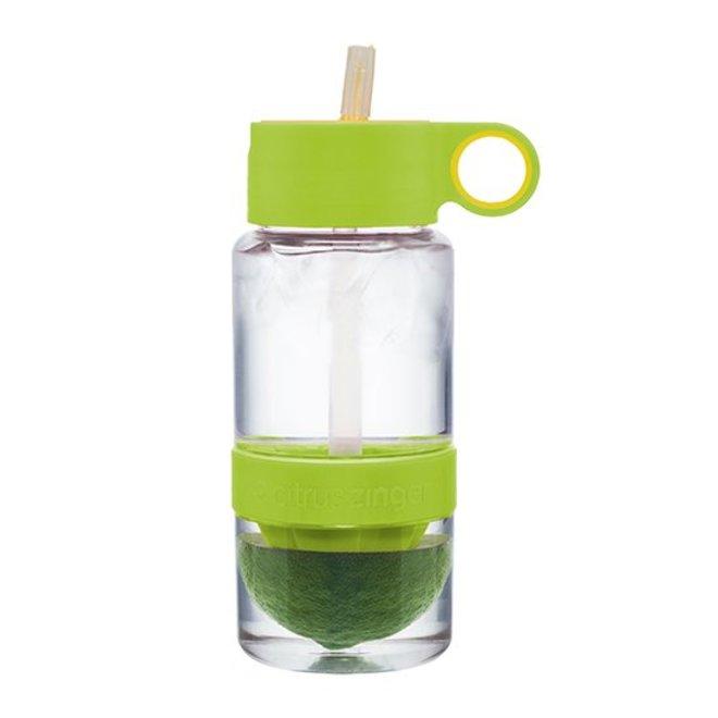 Lime groene Citrus Zinger mini waterfles