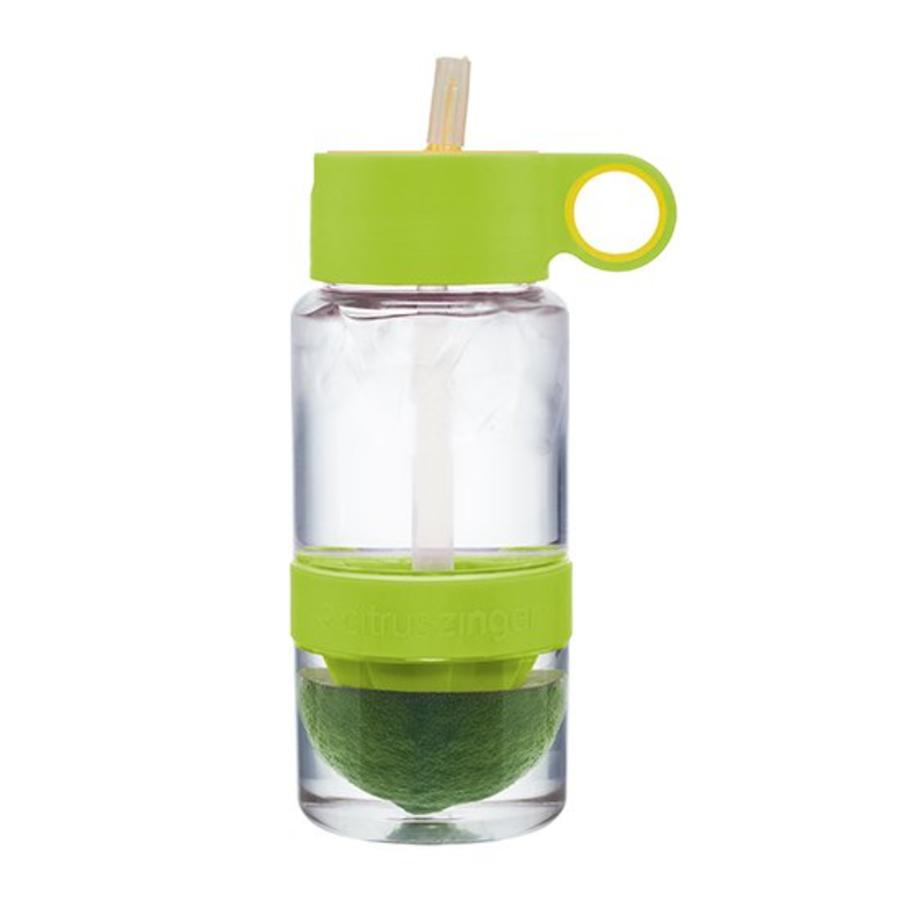 Lime groene Citrus Zinger mini waterfles-3
