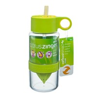 thumb-Lime groene Citrus Zinger mini waterfles-4