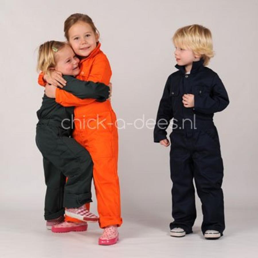 Kinderoverall oranje-6