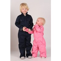 thumb-Children's Overall navy blue-2