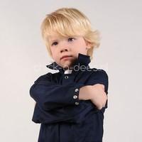 thumb-Children's Overall navy blue-3