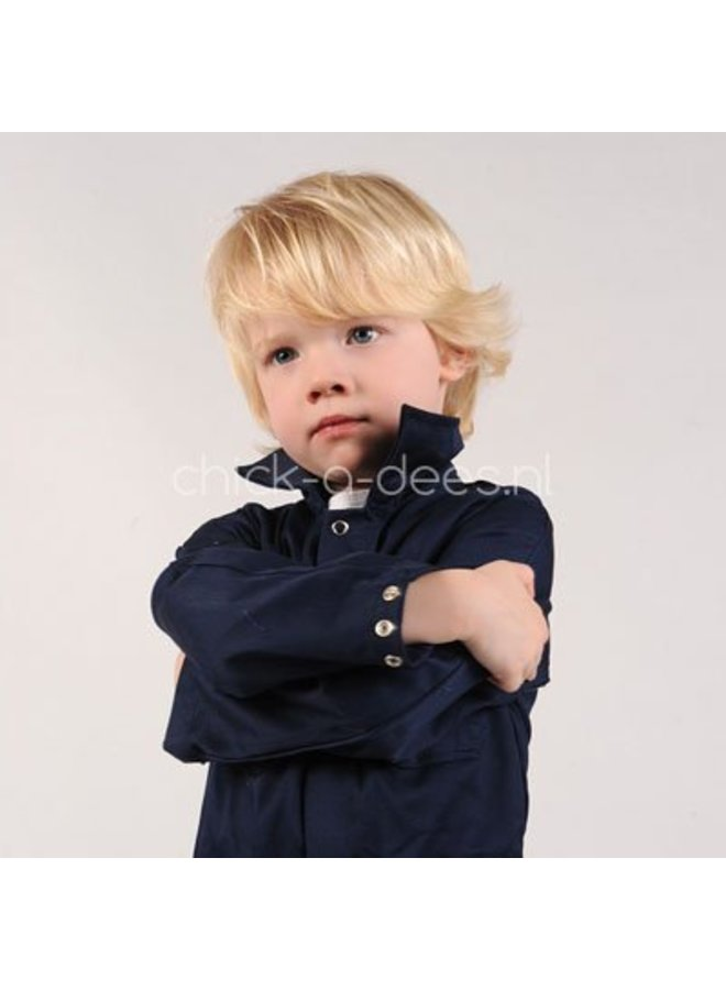 Kinderoverall donkerblauw