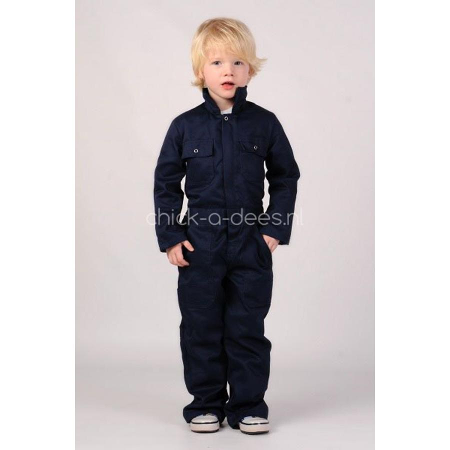 Dark blue overalls with name or text printing-5