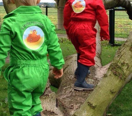 Customized children's coverall with your design or logo