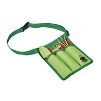 thumb-Set of children's garden tools in waist bag-1