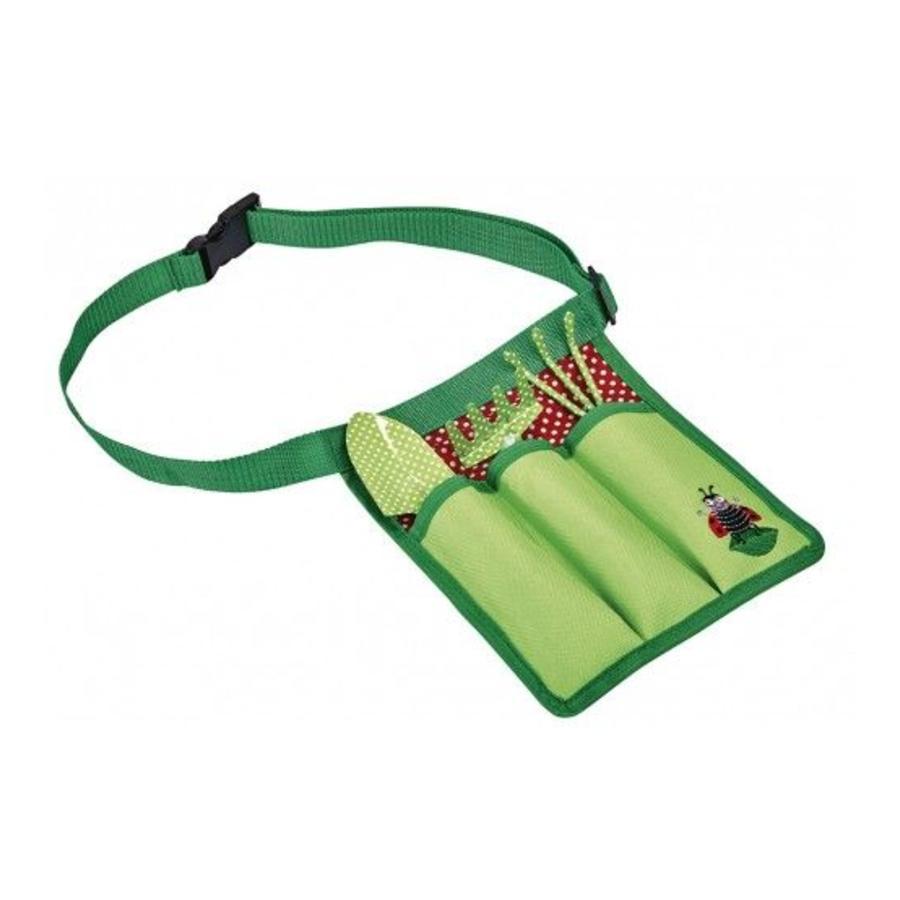 Set of children's garden tools in waist bag-1