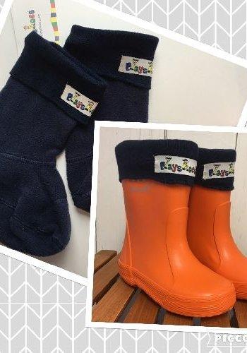 Playshoes Boot socks for kids, fleece