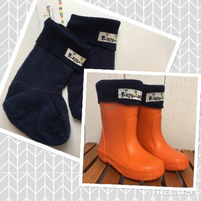 Boot socks, fleece   size 18- 35