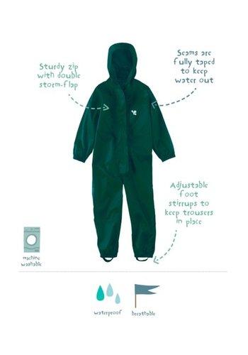 MP buitenkleding Waterproof overall, rain overall - dark green KDV & BSO