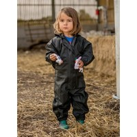 thumb-Waterproof overall, regenoverall - zwart KDV & BSO-2