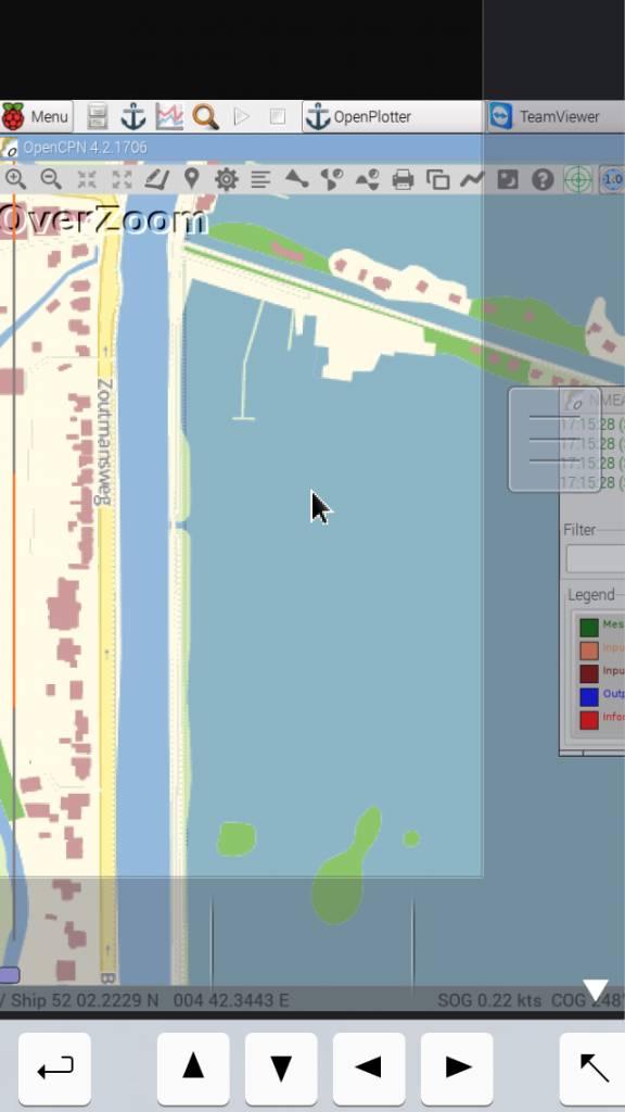 Pi compleet werkend met AIS & GPS & navigatie waterkaarten