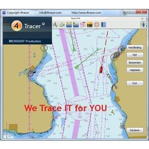 OpenCPN Digitale ENC Kaarten en Navigatie Software