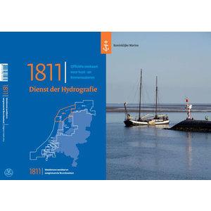 1811 Waddenzee West Hydrografische Kaart 1811