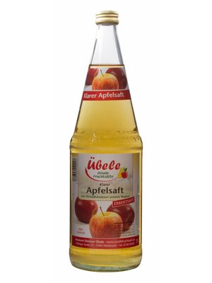 Mosterei Übele (Westhausen) Apfel Direktsaft klar (1l)