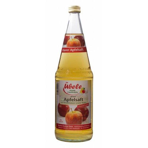 Übele Ostalb-Fruchtsäfte (Westhausen) Apfel Direktsaft klar (1l)