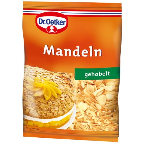 Dr Oetker Mandeln gehobelt (100g)
