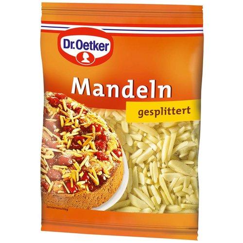 Dr Oetker Mandeln gesplittert (100g)