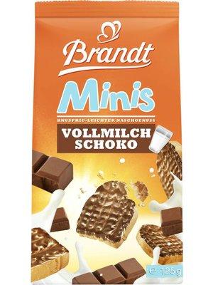 Brandt Zwieback Schoko mini (125g)