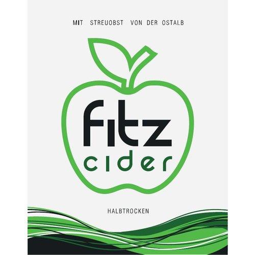 Mosterei Übele (Westhausen) Fitz Cider halbtrocken (24x0,33l)