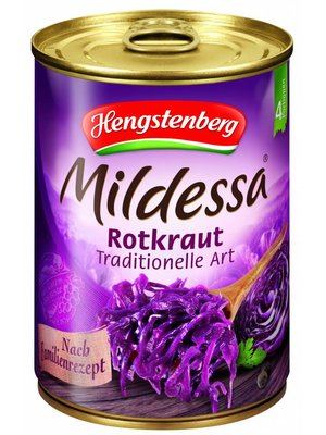 Hengstenberg Rotkohl traditionell (580ml)