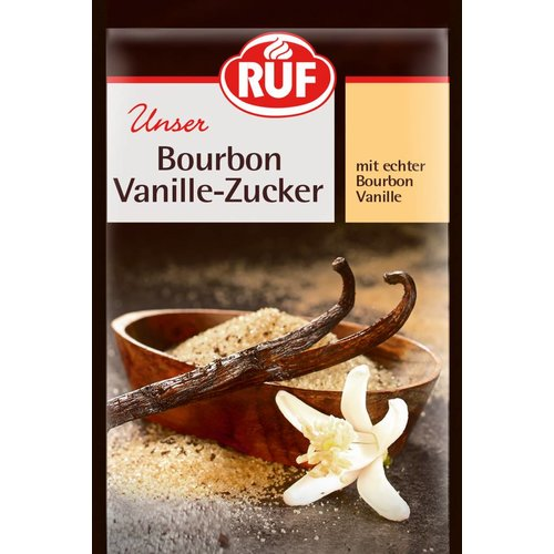 Ruf Bourbon Vanille Zucker (3x8g)
