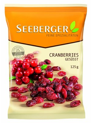 Seeberger Cranberries (125g)