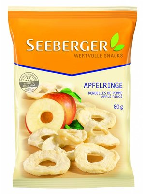 Seeberger Apfelringe (80g)