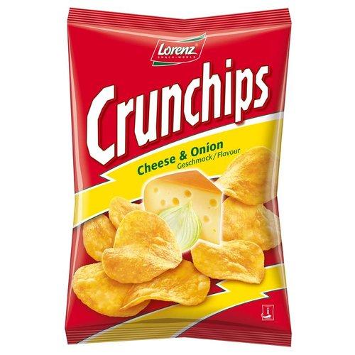 Lorenz Crunchips Cheese & Onion (175g)