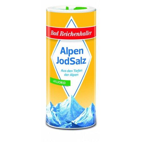 Bad Reichenhaller Jodsalz mit Fluorid (500g/Dose)