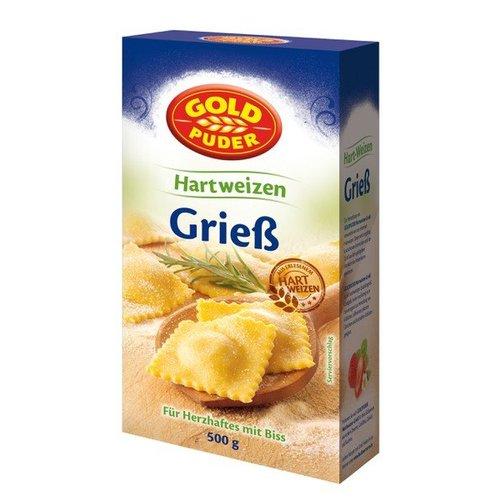 Goldpuder Hartweizengrieß (500g)