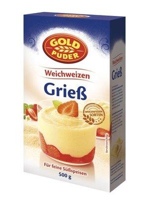 Goldpuder Weichweizengrieß(500g)