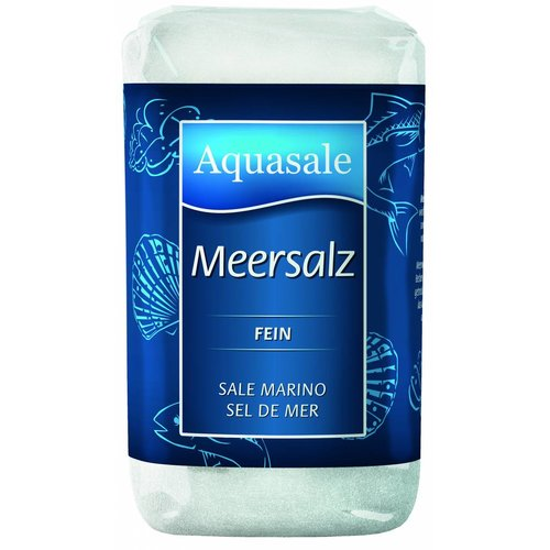 Aquasale Meersalz fein (500g)