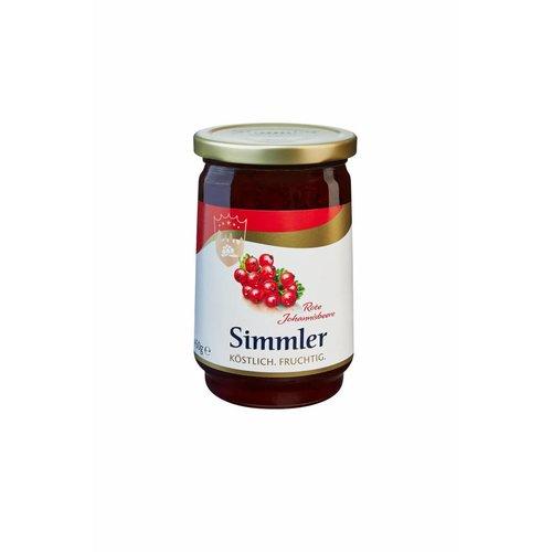 Simmler Konfitüre Rote Johannisbeere (450g)