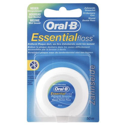 Oral-B Zahnseide Essential Floss Mint gewachst (50m)