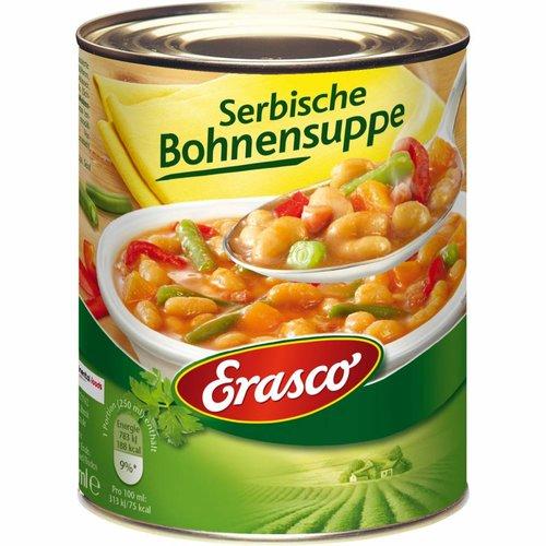 Erasco serbische Bohnensuppe (750g)