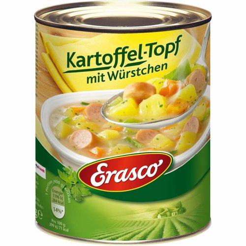 Erasco Kartoffeltopf mit Würstchen (800g)