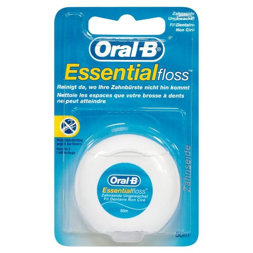Oral-B Zahnseide ungewachst (50m)