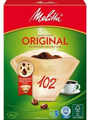 Melitta Kaffeefilter 102 (80Stück)