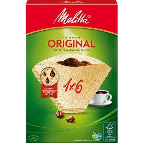 Melitta Kaffeefilter 1x6 (40Stück)