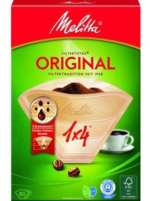 Melitta Kaffeefilter 1x4 (80Stück)