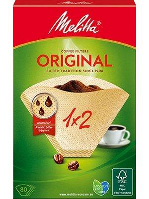 Melitta Kaffeefilter 1x2 (80Stück)