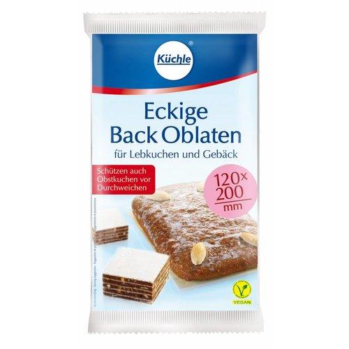 Küchle Backoblaten eckig (60g)