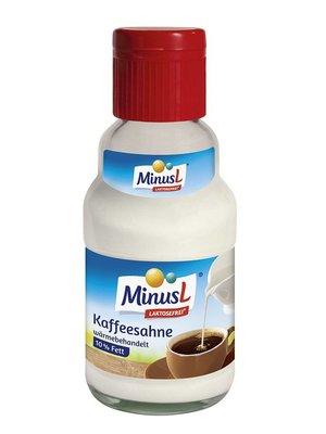 MinusL Kaffeesahne 10% laktosefrei (165g)