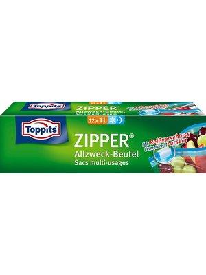 Toppits Zipper Beutel (12 x 1l)