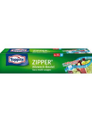 Toppits Zipper Beutel (8 x 3l)