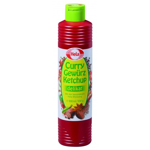 Hela Curry Ketchup delikat (800ml)