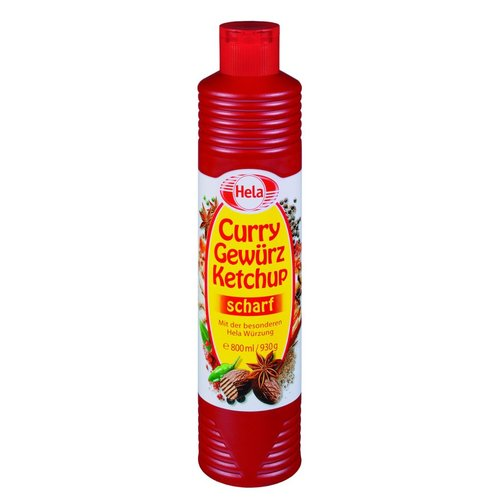 Hela Curry Ketchup scharf (800ml)