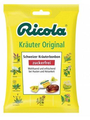 Ricola Kräuter Original Zuckerfrei (75g)
