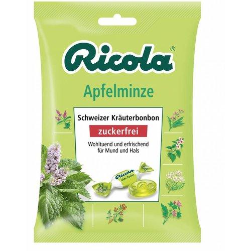 Ricola Apfelminze Zuckerfrei (75g)